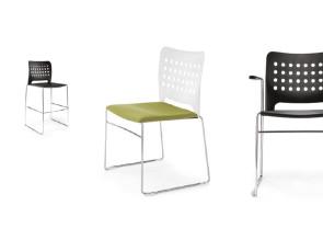 Collection de chaises de collectivité C01 Perfo +