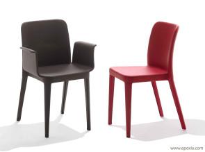 Fauteuil et chaise de réunion / visiteur Nenè