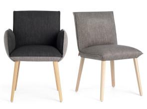 Chaise et fauteuil de réunion Soft