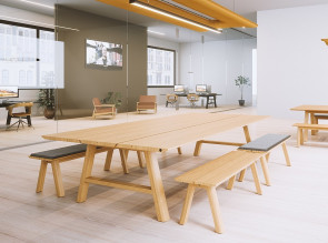 Table avec bancs Picnic