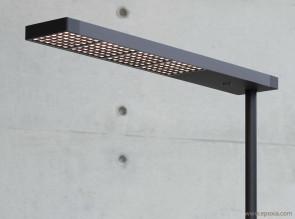 Lampadaire aluminium Led XT Floor Mono par Tobias Grau