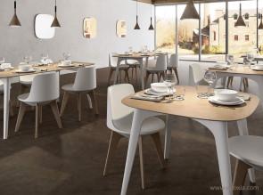 Chaise et table design Planet