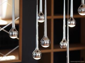 Suspensions design Falling water alu poli