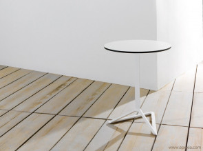 Table design plateau rabattable Delta
