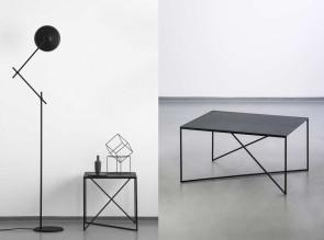 Tables basses Dot, disponibles en 2 tailles et 6 couleurs.