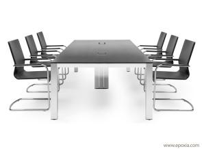 Table de réunion P80 en HPL