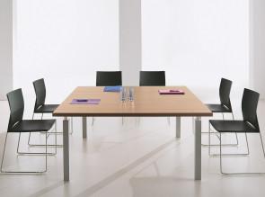 Table de réunion carrée Tim'up