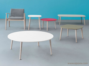 Tables basses pieds bois Malmo